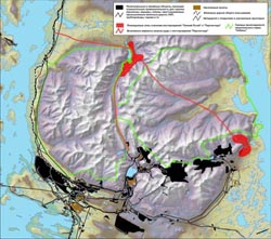 карта рудников
